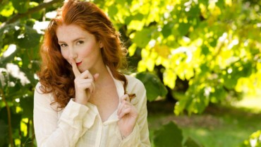 Woman Red Head Nature Red Hair Female Face_mini