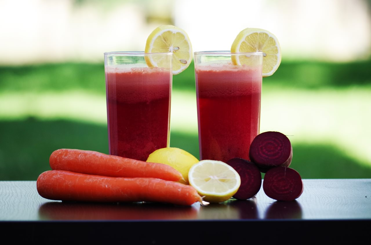 Fruit Vegetables Salad Beetroot Juice Carrots