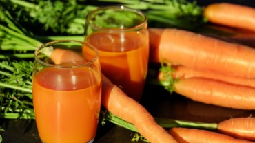 Carrot Juice Glass